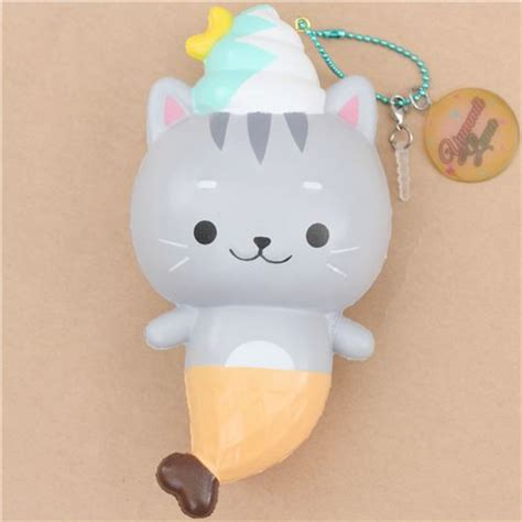squishy cat creamiicandy cat mermaid scented squishy