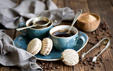 wallpaper blue food cakes and coffee full hd wallpaper and background