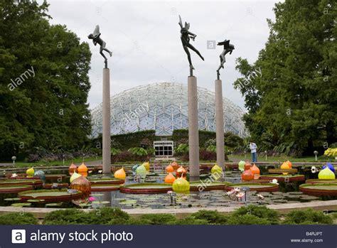 st louis mo botanical gardens st louis missouri missouri botanical garden sculpture carl stock photo royalty free image