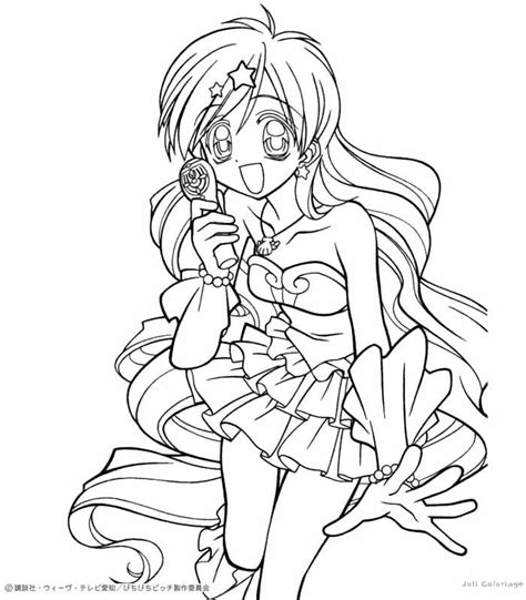 anime anime girl mermaid colouring pages coloring home