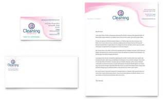 Cleaning Business Plan Template House Cleaning Amp Maid Services Business Card Amp Letterhead