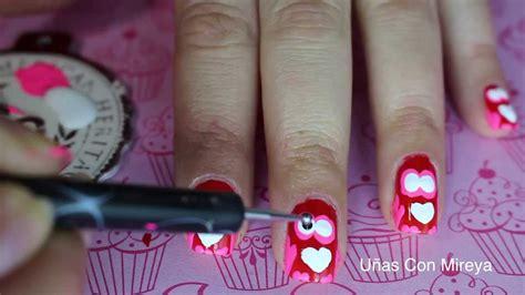 imagenes de uñas decoradas de amor y amistad u 241 as buhos para amor y amistad youtube