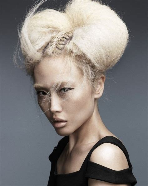 cool avant garde short blonde hairstyles 262 best images about photoshoot hair ideas on pinterest
