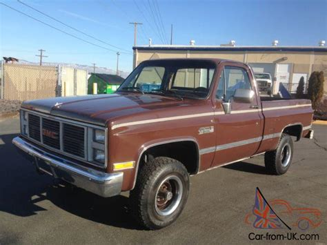 81 gmc truck for sale wow 2 owner 1986 gmc k1500 75 76 77 78 79 80 81 82