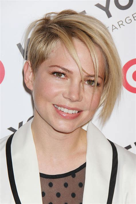Michelle Williams hair: The blonde crop : Photo album