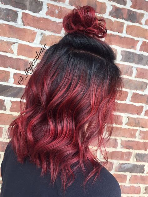 how to dye tips of hair with red kool aid for black hair 25 best ideas about red ombre on pinterest fire ombre