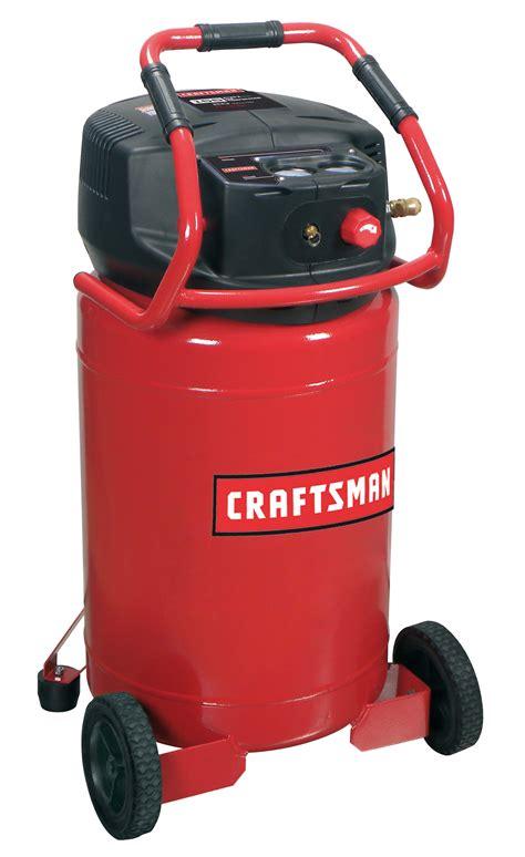 Craftsman 20 Gallon Oil Free Portable Air Compressor