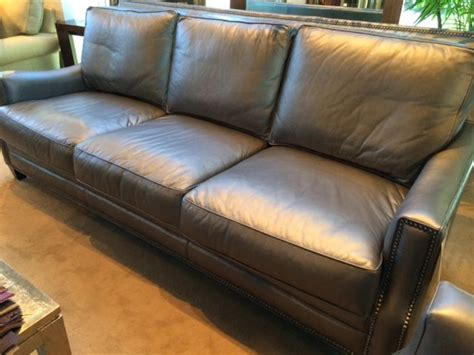 custom leather sofa by eleanor rigby at sofa designers