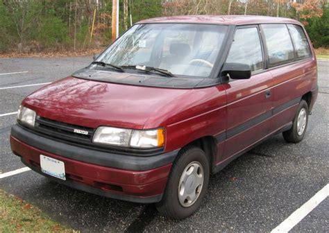 mazda car van 1992 mazda mpv pictures cargurus