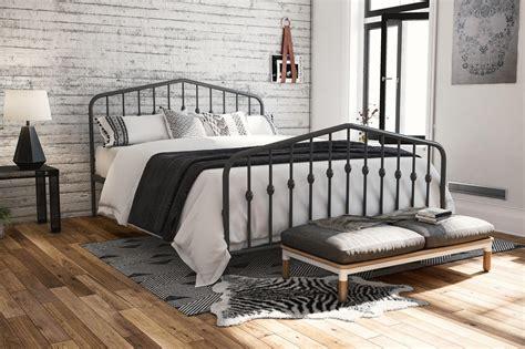 dhp furniture novogratz bushwick metal bed