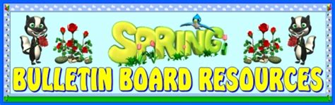 educational themes for april spring bulletin board displays and themes to brighten your