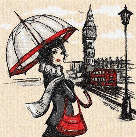 embroidery design london london and rain photo stitch free embroidery design