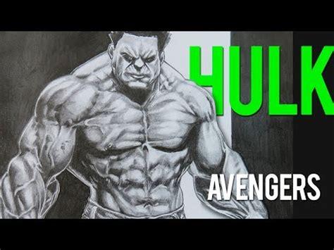 imagenes de los vengadores para dibujar a lapiz dibujando a hulk con lapiz los vengadores sombreado 1