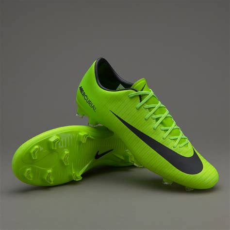 Sepatu Nike Mercurial sepatu bola nike mercurial victory vi fg electric green black flash lime