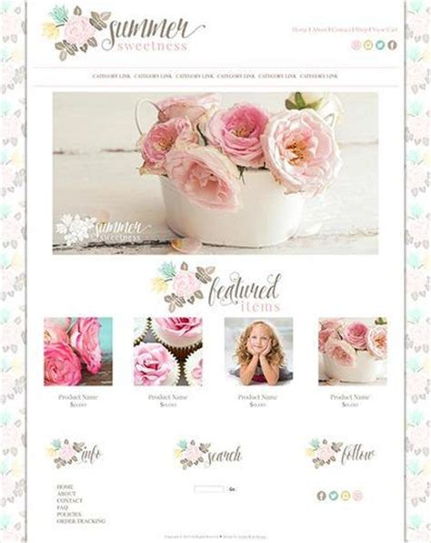 romantic templates for blogger 1000 images about cute websites and website templates on