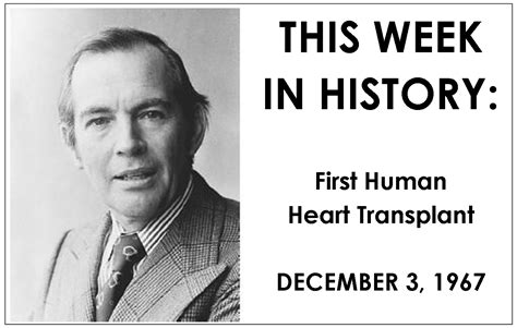 christiaan barnard the surgeon who dared books this week in history december 3 1967