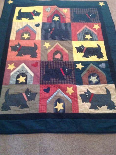 17 best images about scottie quilts on quilt