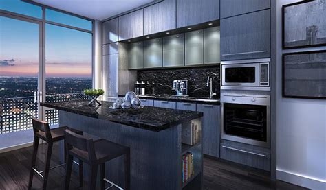 Toronto Kitchen Cabinets by King Blue Condos Gourmet Kitchen King Blue Condos