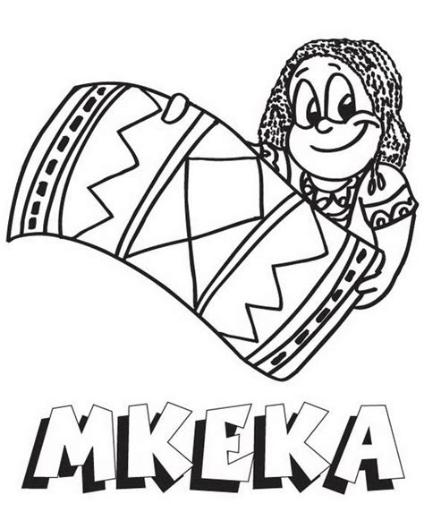 coloring pages of kwanzaa symbols kwanzaa symbols coloring pages