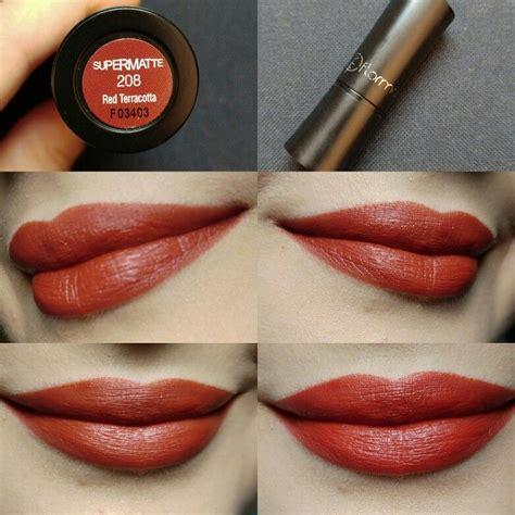 Flormar Matte Lipstick Pink Velvet day4 flormar supermatte lipstick 208 terracota 100days100lipsticks dupes