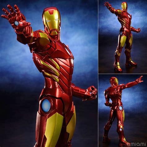 Figure Revoltech Kws artfx 1 10 iron marvel now x gold amethyst hobby