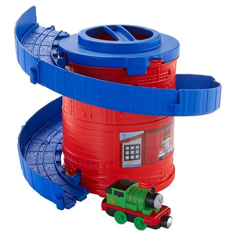 Friends Take N Play Spiral Tower Tracks With Cdn01 fisher price friends take n play spiral tower tracks with percy at hobby warehouse