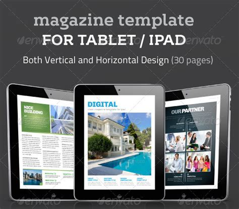 20 Beautiful Digital Magazine Templates Designmaz Electronic Magazine Template