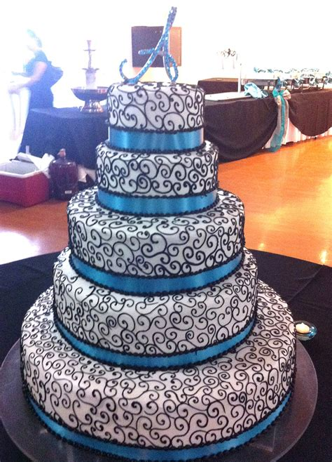Quinceanera Cakes Gallery by Blue Quinceanera Cake Www Imgkid The Image Kid Has It