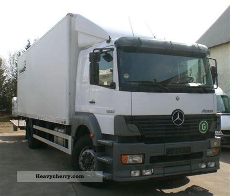 Sleeper Box Truck by Mercedes Atego 1828 Sleeper No 1228 1528 2004