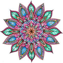 colorful mandala 25 best ideas about colorful mandala on