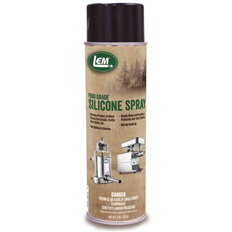 silicone food grade food grade silicone spray lem products