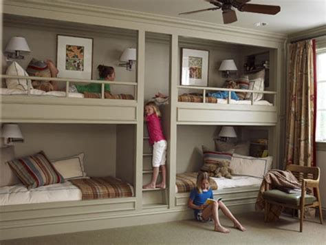 bedrooms 4 kids four kids one room bunk beds decoholic