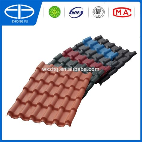 Genteng Acrylic pvc plastic roof tile for villa building material made in china buy pvc panel roofing sheet