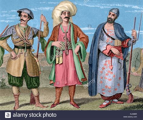 elite ottoman soldiers ottoman soldiers stock photos ottoman soldiers stock