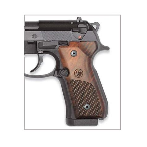 beretta 92fs wood grips beretta 92 series wood grips oval checkering with trident logo