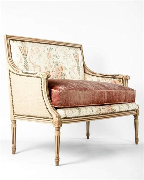 settee cushions sale vintage french settee with down cushion for sale at 1stdibs