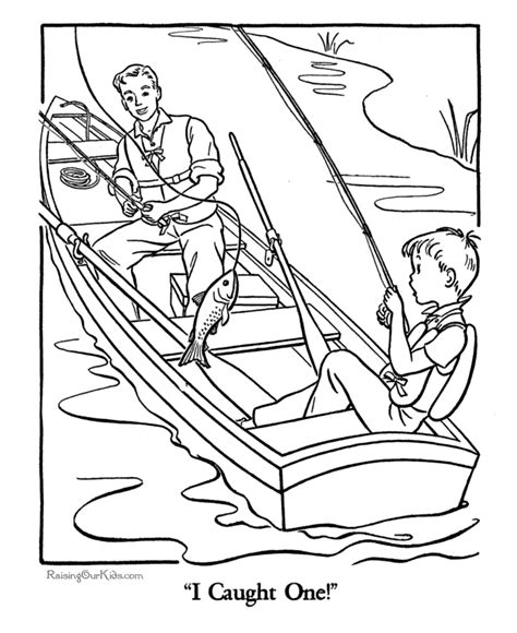 fishing coloring pages coloring pages of fishing az coloring pages