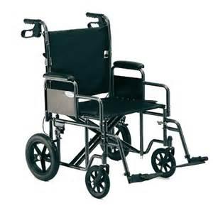 heavy duty wide folding bariatric transport wheelchair