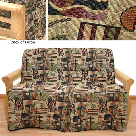 Skirted Futon Slipcover by Hip Hop Skirted Futon Cover