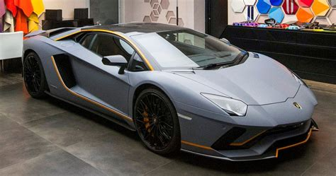 Lamborghini One Off by Lamborghini Ad Personam Dresses Up One Off Aventador S At