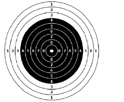 a3 printable shooting targets targets