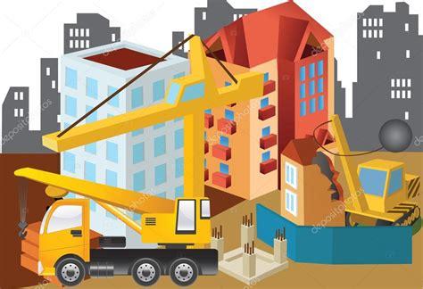 Site Clipart Illustrazione Di Clipart Costruzione Sito Vettoriali