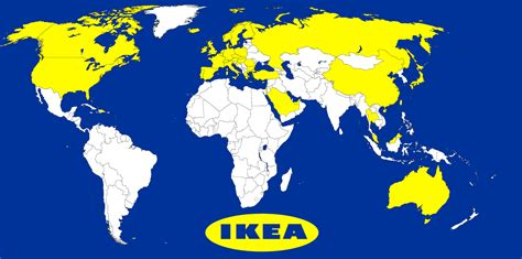 ikea branches brilliant maps on twitter quot map of countries with an ikea