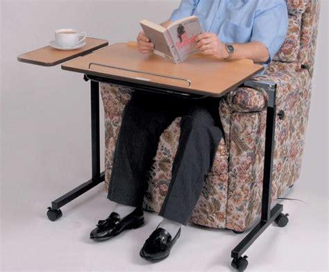 Tempur Chair Table Sur Roulettes Pour Lit Table De Lit Roulante