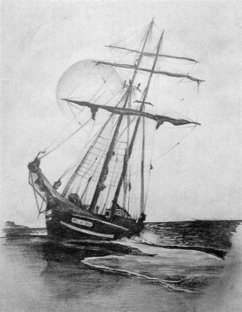 imagenes de barcos a lapiz dibujos a lapiz dibujos