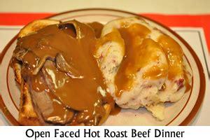 Fast Easy Dinner Open Roast Beef Sandwich by Cabot S Restaurant Restaurants Restaurants