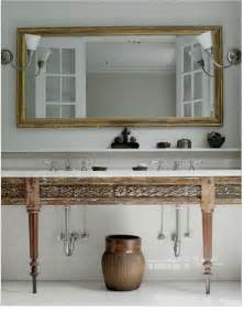 bathroom sink table to da loos wood tables as bathroom vanities