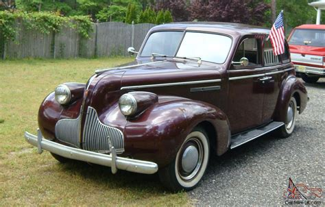 1939 buick special 4 door sedan model 41  straight 8 cyl.