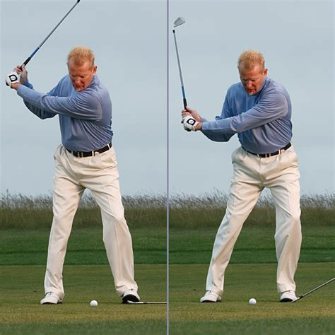 post up left leg golf swing what the no backswing swing fixes golf com