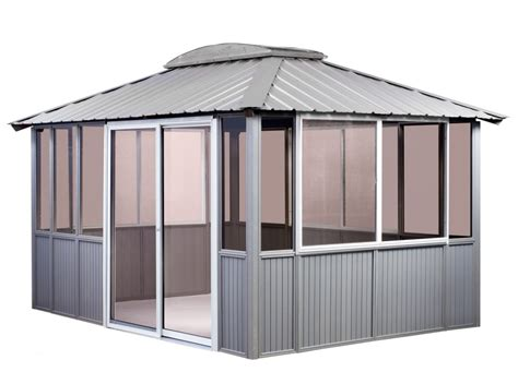 enclosed gazebo enclosed gazebo